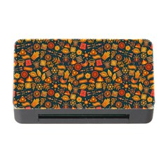 Pattern Background Ethnic Tribal Memory Card Reader With Cf