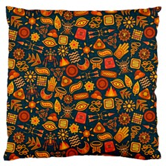 Pattern Background Ethnic Tribal Large Cushion Case (two Sides)