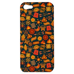 Pattern Background Ethnic Tribal Apple Iphone 5 Hardshell Case