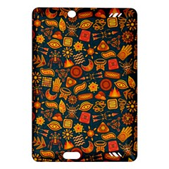 Pattern Background Ethnic Tribal Amazon Kindle Fire Hd (2013) Hardshell Case