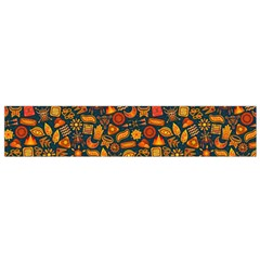 Pattern Background Ethnic Tribal Flano Scarf (Small)