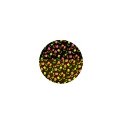 Flowers Roses Floral Flowery 1  Mini Buttons