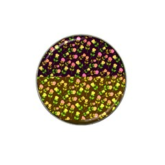 Flowers Roses Floral Flowery Hat Clip Ball Marker (4 Pack)