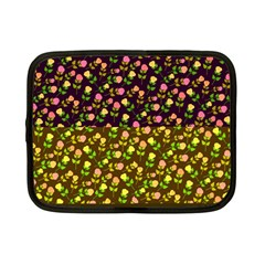 Flowers Roses Floral Flowery Netbook Case (Small)