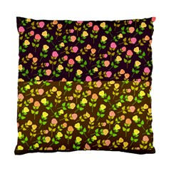 Flowers Roses Floral Flowery Standard Cushion Case (Two Sides)