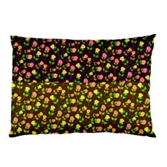 Flowers Roses Floral Flowery Pillow Case