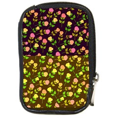 Flowers Roses Floral Flowery Compact Camera Cases