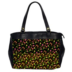 Flowers Roses Floral Flowery Office Handbags