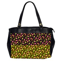 Flowers Roses Floral Flowery Office Handbags (2 Sides)