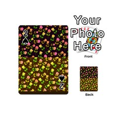 Flowers Roses Floral Flowery Playing Cards 54 (mini)