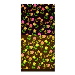 Flowers Roses Floral Flowery Shower Curtain 36  X 72  (stall)