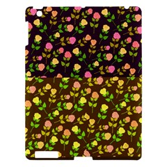 Flowers Roses Floral Flowery Apple Ipad 3/4 Hardshell Case