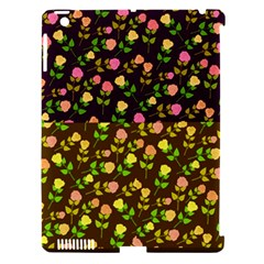 Flowers Roses Floral Flowery Apple Ipad 3/4 Hardshell Case (compatible With Smart Cover)