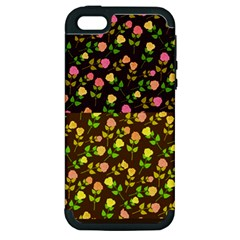 Flowers Roses Floral Flowery Apple iPhone 5 Hardshell Case (PC+Silicone)