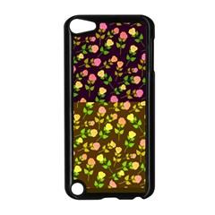 Flowers Roses Floral Flowery Apple Ipod Touch 5 Case (black)