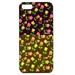 Flowers Roses Floral Flowery Apple Iphone 5 Hardshell Case With Stand
