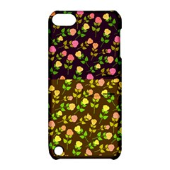 Flowers Roses Floral Flowery Apple Ipod Touch 5 Hardshell Case With Stand