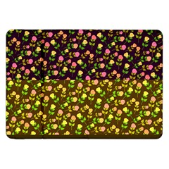Flowers Roses Floral Flowery Samsung Galaxy Tab 8 9  P7300 Flip Case