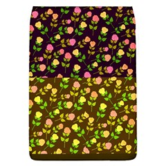 Flowers Roses Floral Flowery Flap Covers (l)