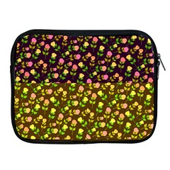 Flowers Roses Floral Flowery Apple Ipad 2/3/4 Zipper Cases