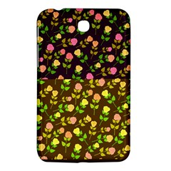 Flowers Roses Floral Flowery Samsung Galaxy Tab 3 (7 ) P3200 Hardshell Case