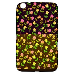 Flowers Roses Floral Flowery Samsung Galaxy Tab 3 (8 ) T3100 Hardshell Case