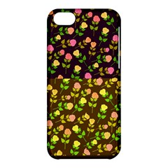 Flowers Roses Floral Flowery Apple Iphone 5c Hardshell Case