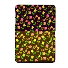 Flowers Roses Floral Flowery Samsung Galaxy Tab 2 (10 1 ) P5100 Hardshell Case