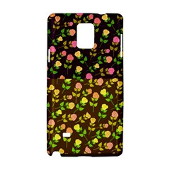 Flowers Roses Floral Flowery Samsung Galaxy Note 4 Hardshell Case