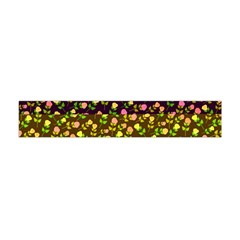 Flowers Roses Floral Flowery Flano Scarf (mini)