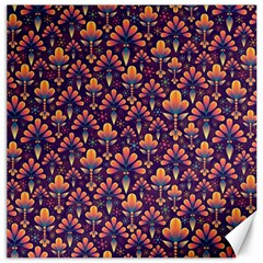 Abstract Background Floral Pattern Canvas 16  X 16