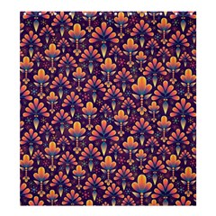 Abstract Background Floral Pattern Shower Curtain 66  x 72  (Large)