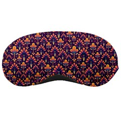 Abstract Background Floral Pattern Sleeping Masks