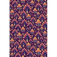 Abstract Background Floral Pattern 5.5  x 8.5  Notebooks