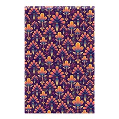 Abstract Background Floral Pattern Shower Curtain 48  X 72  (small)