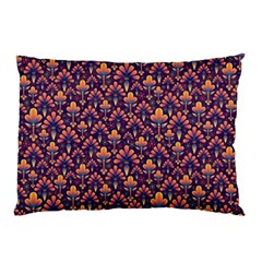 Abstract Background Floral Pattern Pillow Case (two Sides)