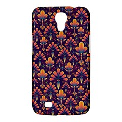 Abstract Background Floral Pattern Samsung Galaxy Mega 6 3  I9200 Hardshell Case