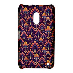 Abstract Background Floral Pattern Nokia Lumia 620