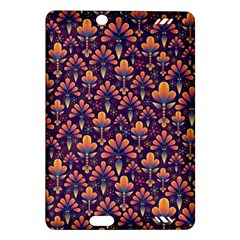 Abstract Background Floral Pattern Amazon Kindle Fire Hd (2013) Hardshell Case