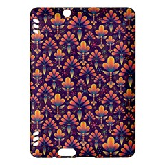 Abstract Background Floral Pattern Kindle Fire Hdx Hardshell Case