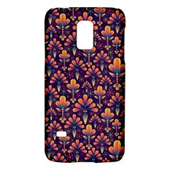 Abstract Background Floral Pattern Galaxy S5 Mini