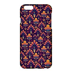 Abstract Background Floral Pattern Apple Iphone 6 Plus/6s Plus Hardshell Case