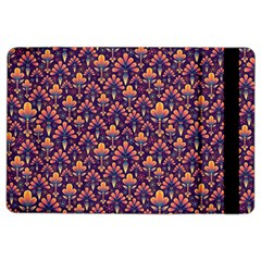 Abstract Background Floral Pattern Ipad Air 2 Flip