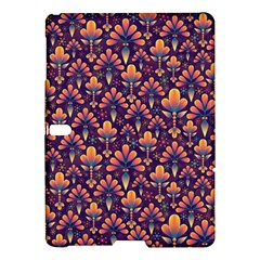 Abstract Background Floral Pattern Samsung Galaxy Tab S (10.5 ) Hardshell Case