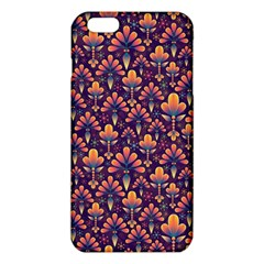 Abstract Background Floral Pattern Iphone 6 Plus/6s Plus Tpu Case