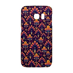 Abstract Background Floral Pattern Galaxy S6 Edge