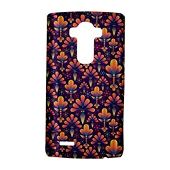 Abstract Background Floral Pattern Lg G4 Hardshell Case