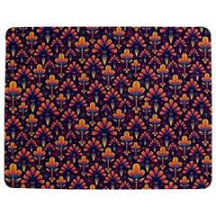 Abstract Background Floral Pattern Jigsaw Puzzle Photo Stand (rectangular)