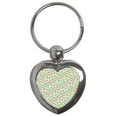 Flowers Roses Floral Flowery Key Chains (heart)