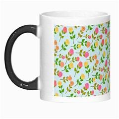 Flowers Roses Floral Flowery Morph Mugs